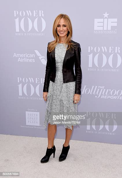 Honoree Dana Walden attends the 24th annual Women in Entertainment Breakfast hosted by The Hollywood Reporter at Milk Studios on December 9 2015 in...
