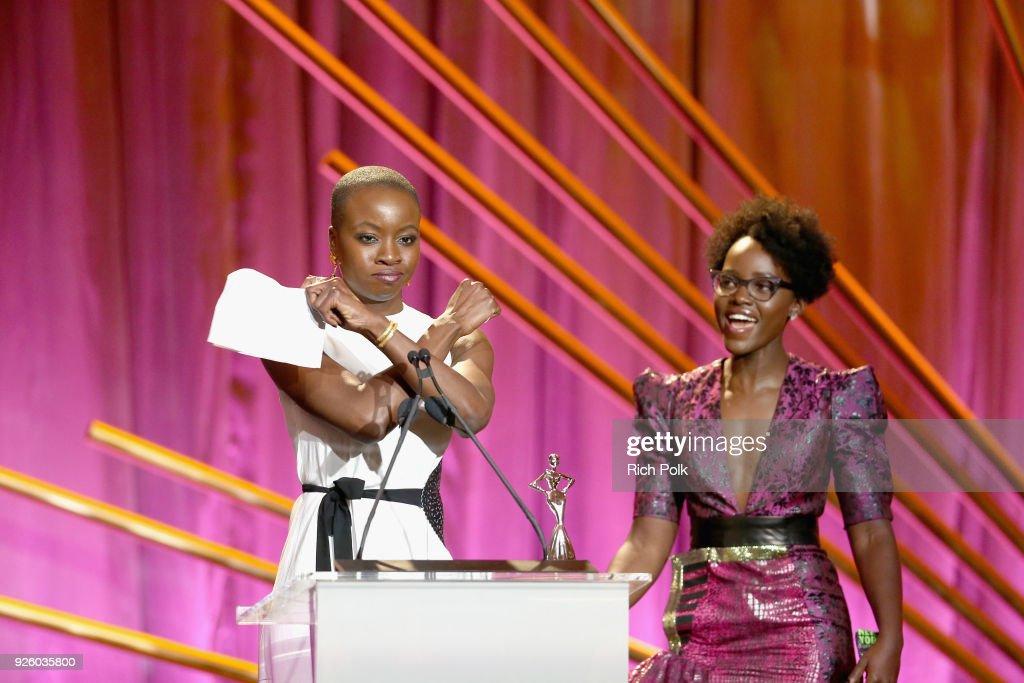 2018 Essence Black Women In Hollywood Oscars Luncheon - Show : Fotografía de noticias
