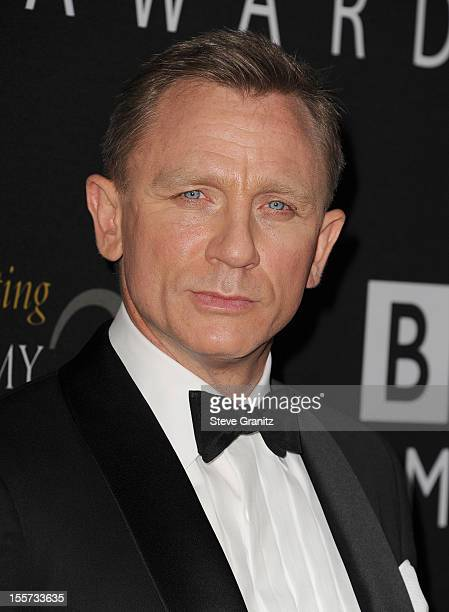 Honoree Daniel Craig arrives at BAFTA LA 2012 Britannia Awards Presented By BBC America at The Beverly Hilton Hotel on November 7 2012 in Beverly...