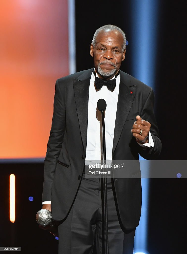 Honoree Danny Glover accepts the President's Award onstage at the 49th NAACP Image Awards on January 15, 2018 in Pasadena, California.