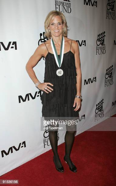 Honoree Dara Torres attends the 24th Annual Great Sports Legends Dinner at The Waldorf=Astoria on October 6 2009 in New York City