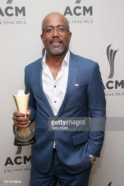 Honoree Darius Rucker takes photos during the 12th Annual ACM Honors at Ryman Auditorium on August 22 2018 in Nashville Tennessee