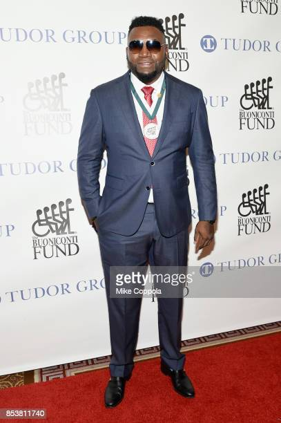 Honoree David Ortiz attend the 32nd Annual Great Sports Legends Dinner To Benefit The Miami Project/Buoniconti Fund To Cure Paralysis Legends...