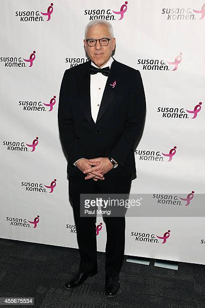 Honoree David Rubenstein attends the 2014 Susan G Komen Honoring The Promise Gala at John F Kennedy Center for the Performing Arts on September 18...