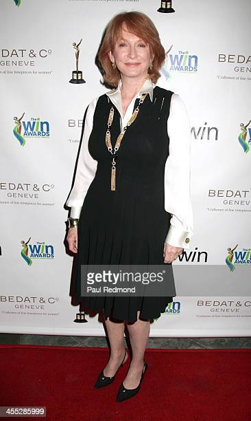 Honoree Dean Cecilia DeMille Presley arrives at The Annual Women's Image Awards at Santa Monica Bay Woman's Club on December 11 2013 in Santa Monica...