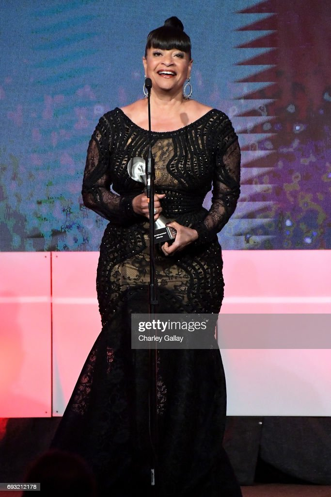 Honoree Debbie Allen accepts the Lifetime Achievement Award onstage during the 42nd Annual Gracie Awards, hosted by The Alliance for Women in Media at the Beverly Wilshire Hotel on June 6, 2017 in Beverly Hills, California.