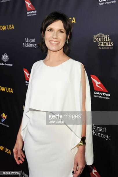 Honoree Deborah Riley attends the 2019 G'Day USA Gala at 3LABS on January 26 2019 in Culver City California