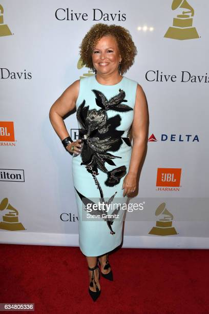Honoree Debra L Lee attends PreGRAMMY Gala and Salute to Industry Icons Honoring Debra Lee at The Beverly Hilton on February 11 2017 in Los Angeles...