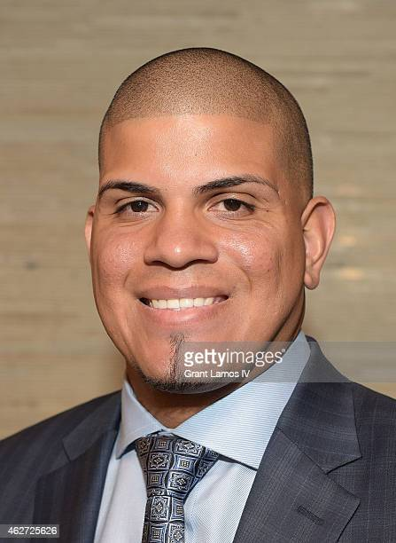 Honoree Dellin Betances attends the 5th Annual Thurman Munson Awards Dinner at Grand Hyatt New York on February 3 2015 in New York City