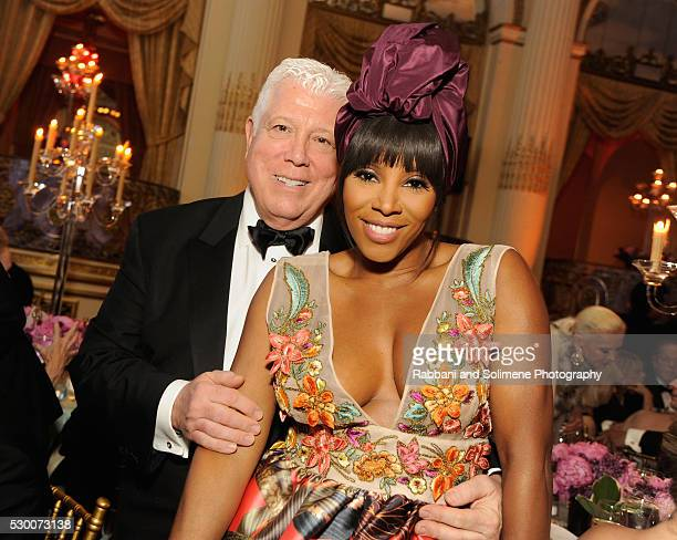 Honoree Dennis Blasso and celebrity stylist June Ambrose attend FIT's Annual Gala to Honor Dennis Basso John and Laura Pomerantz and QVC at the Grand...