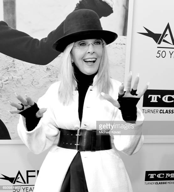 Honoree Diane Keaton arrives at the American Film Institute's 45th Life Achievement Award Gala Tribute to Diane Keaton at Dolby Theatre on June 8,...