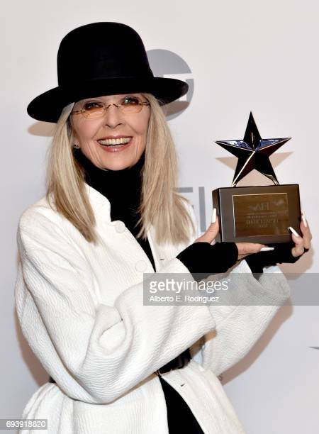 Honoree Diane Keaton attends the mock presentation during American Film Institute's 45th Life Achievement Award Gala Tribute to Diane Keaton at Dolby...