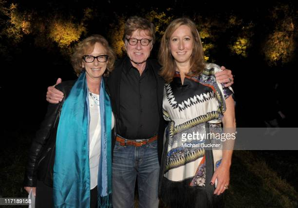 Honoree Director Michelle Satter Sundance Institute President and Founder Robert Redford and Sundance Institute Executive Director Keri Putnam attend...