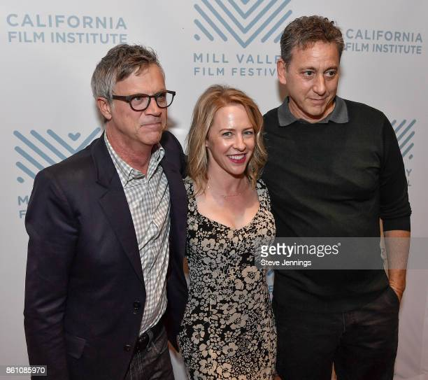 Honoree director Todd Haynes actress Amy Hargreaves and producer John Sloss attend a screening of 'Wonderstruck' at the Mill Valley Film Festival at...