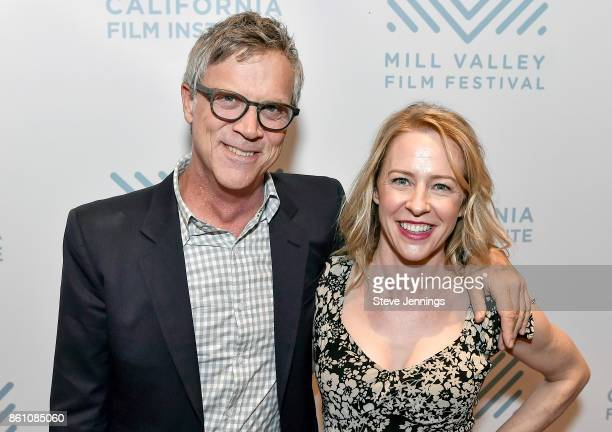Honoree director Todd Haynes and actress Hargreaves attend the screening of 'Wonderstruck' at the Mill Valley Film Festival at Christopher B Smith...