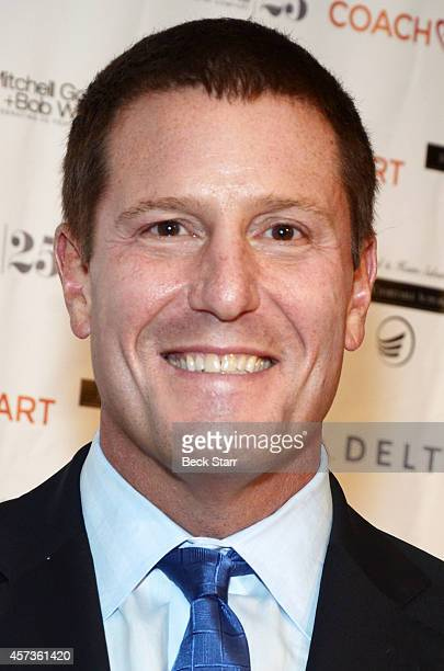 Honoree Disney executive vice president Kevin Mayer attends CoachArt Gala Of Champions at The Beverly Hilton Hotel on October 16 2014 in Beverly...