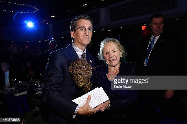 Honoree Donato Tramuto and Ethel Kennedy attend the RFK Ripple Of Hope Gala at Hilton Hotel Midtown on December 16 2014 in New York City
