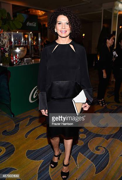 Honoree Donna Langley attends the 2014 Variety Power of Women presented by Lifetime at Beverly Wilshire Four Seasons Hotel on October 10 2014 in Los...
