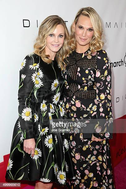 Honoree Dr Michele Hakakha and actress Molly Sims attend the March Of Dimes Celebration Of Babies Luncheon honoring Jessica Alba at the Beverly...