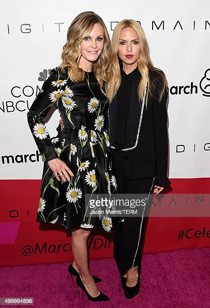 Honoree Dr. Michele Hakakha and fashion designer Rachel Zoe attend the March Of Dimes Celebration Of Babies Luncheon honoring Jessica Alba at the...