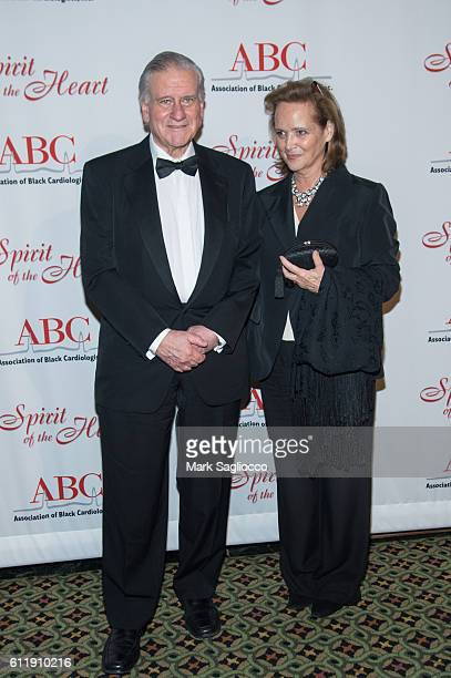 Honoree Dr Valentin Fuster and Maria Fuster attend the 7th Annual Spirit of the Heart Awards Gala For Health Advocacy at Cipriani 42nd Street on...
