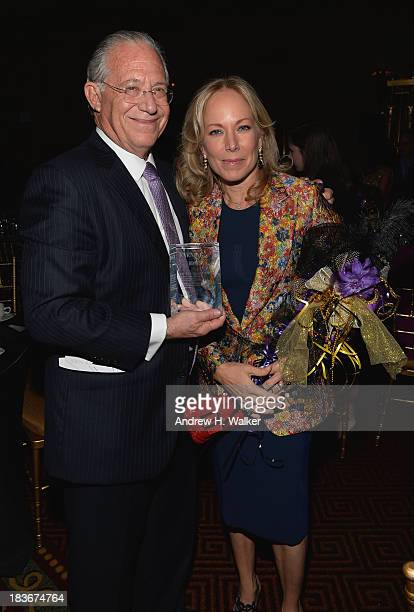 Honoree Dr William Haseltine and Maria Eugenia Maury Haseltine attend the Lupus Foundation Of America National Gala at Gotham Hall on October 8 2013...