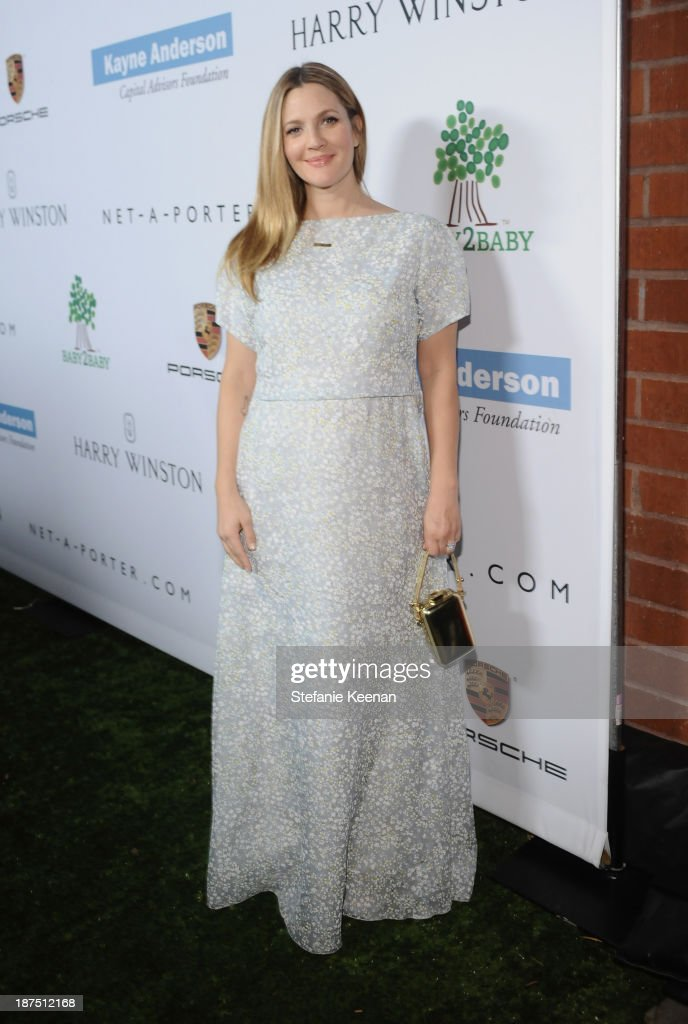 Honoree Drew Barrymore attends the second annual Baby2Baby Gala, honoring Drew Barrymore, at Book Bindery on November 9, 2013 in Culver City, California.