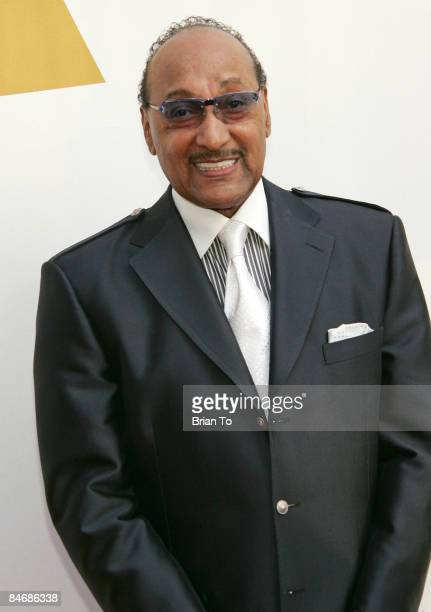 Honoree Duke Fakir of The Four Tops arrives at The Recording Academy's Special Merit Awards Ceremony at Wilshire Ebell Theater on February 7 2009 in...