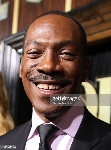 Honoree Eddie Murphy arrives at Spike TV's Eddie Murphy One Night Only at the Saban Theatre on November 3 2012 in Beverly Hills California