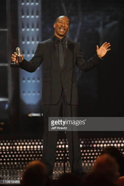 Honoree Eddie Murphy speaks onstage at the First Annual Comedy Awards at Hammerstein Ballroom on March 26, 2011 in New York City.