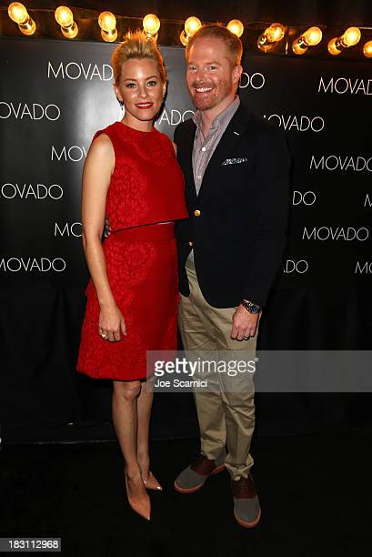 Honoree Elizabeth Banks and actor Jesse Tyler Ferguson attend Variety's 5th Annual Power of Women event presented by Lifetime at the Beverly Wilshire...