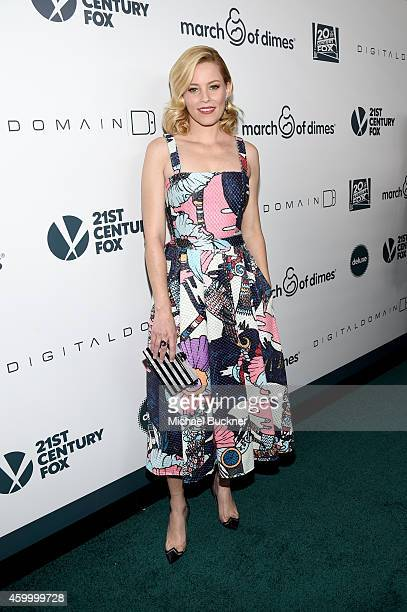 Honoree Elizabeth Banks attends March of Dimes' Celebration of Babies A Hollywood Luncheon at the Beverly Wilshire Hotel on December 5 2014 in...