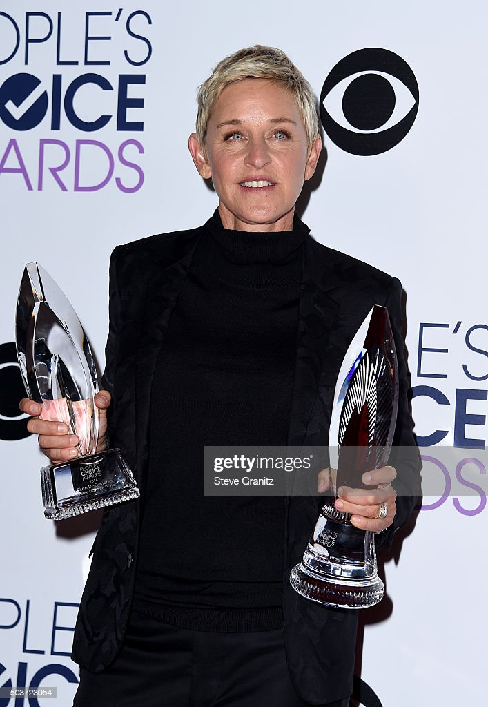 People's Choice Awards 2016 - Press Room : News Photo