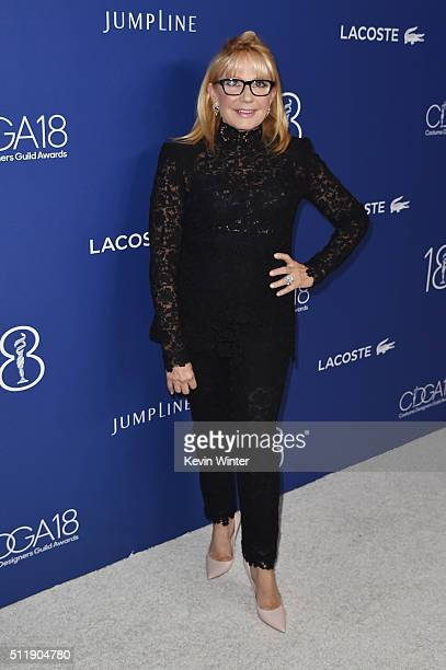 Honoree Ellen Mirojnick attends the 18th Costume Designers Guild Awards with Presenting Sponsor LACOSTE at The Beverly Hilton Hotel on February 23...