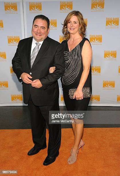 Honoree Emeril Lagasse and Alden Lagasse attend the Food Bank for New York City's 8th Annual CanDo Awards dinner at Abigail Kirsch�s Pier Sixty at...