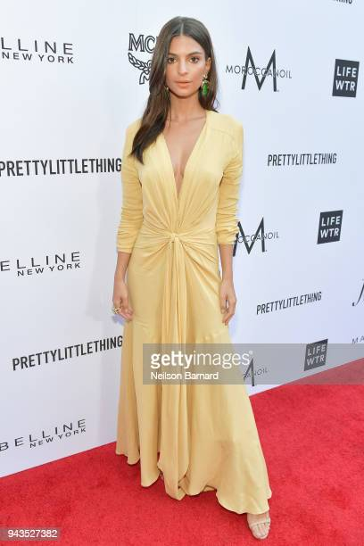 Honoree Emily Ratajkowski attends The Daily Front Row's 4th Annual Fashion Los Angeles Awards at Beverly Hills Hotel on April 8 2018 in Beverly Hills...