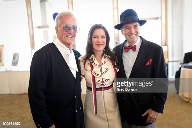 Honoree Entertainer Pat Boone Thalians President Actress Kira Reed Lorsch and Gary Green Esq attend The Thalians Hollywood for Mental Health...