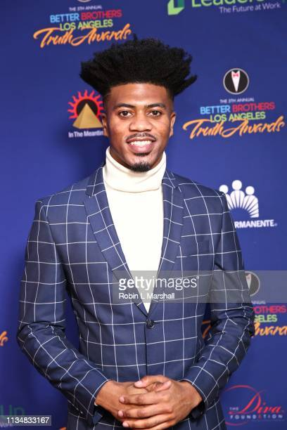 Honoree Eric D Jones attends the 5th Annual Truth Awards at Taglyan Cultural Complex on March 09 2019 in Hollywood California