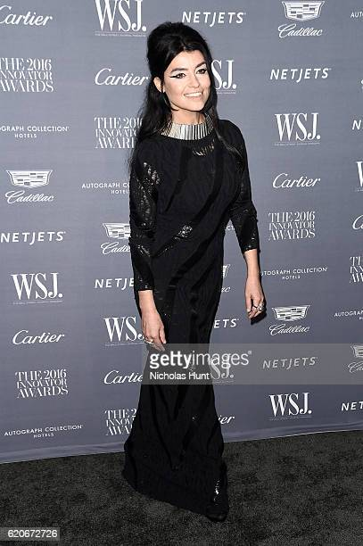 Honoree Es Devlin attends the WSJ Magazine 2016 Innovator Awards at Museum of Modern Art on November 2 2016 in New York City