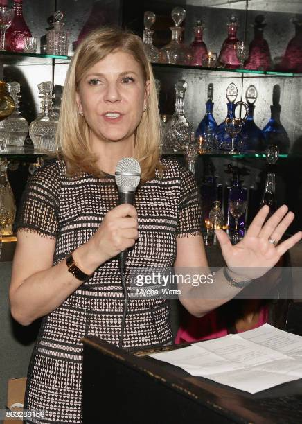 Honoree EVP/COO New York Presbyterian Hospital Dr Laura Forese attends 'Kicked It In Heels' Cancer Fundraiser at Beautique on October 18 2017 in New...