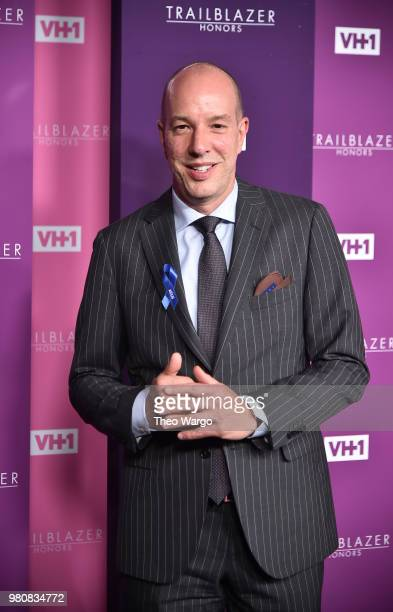 Honoree Executive Director of the American Civil Liberties Union Anthony D Romero attends VH1 Trailblazer Honors 2018 at The Cathedral of St John the...