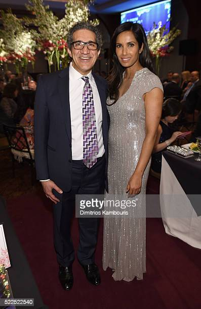 Honoree Farr Nezhat MD and EFA cofounder and host Padma Lakshmi attend the 8th Annual Blossom Ball benefiting the Endometriosis Foundation of America...