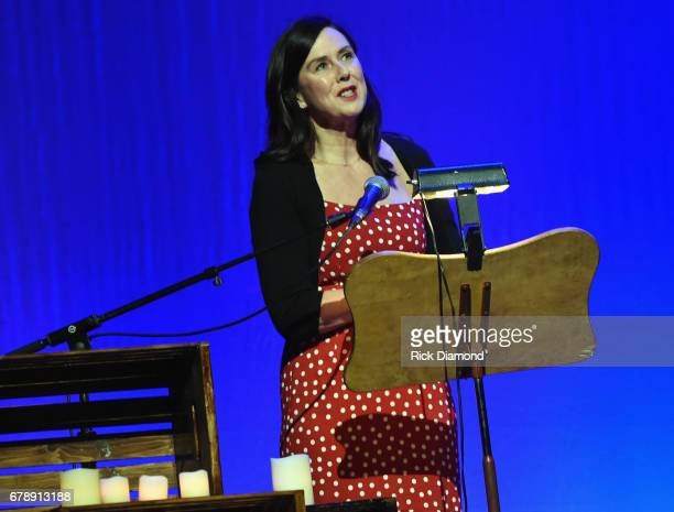 Honoree Fiona Whelan Prine during Love Letters: Thistle Farms Turns 20 at the Ryman Auditorium on May 3, 2017 in Nashville, Tennessee.
