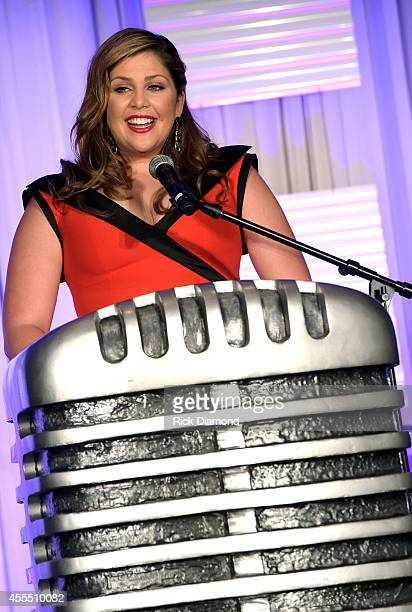 "Honoree for ""Artist of the Year"" Singer/Songwriter member of Lady Antebellum Hillary Scott at the First annual 2014 Women In Music City Awards at the..."