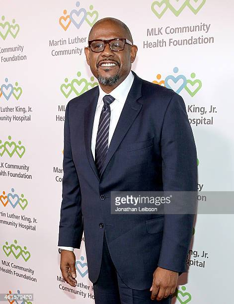 """Honoree Forest Whitaker attends MLK """"Celebrating The Dream"""" luncheon at Dorothy Chandler Pavilion on January 15, 2015 in Los Angeles, California."""