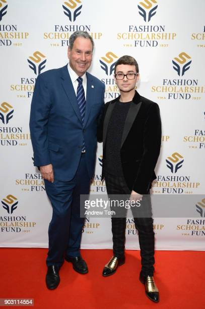 Honoree Former Chairman CEO of Saks Inc Stephen Sadove and Executive Director YMA FSF Doug Evans and Honoree Fashion Designer Christian Siriano...