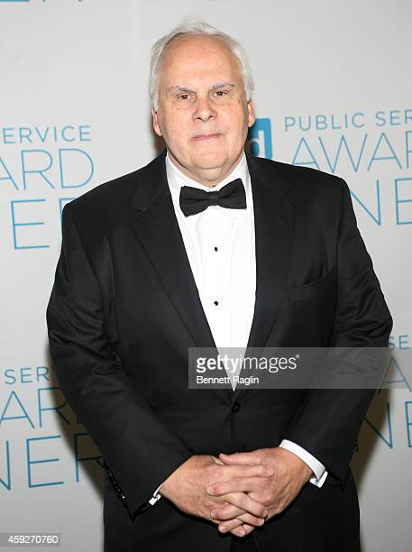 Honoree Fred Smith CEO of FedEx attends Ad Council's 61st Annual Public Service Award Dinner at The Waldorf=Astoria on November 19 2014 in New York...