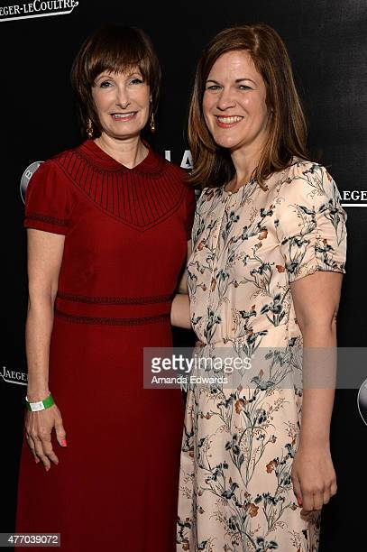 Honoree Gale Anne Hurd and assistant vice president of marketing and communications at Jaeger-LeCoultre Belinda Mayo attend Women Who Make It Happen:...