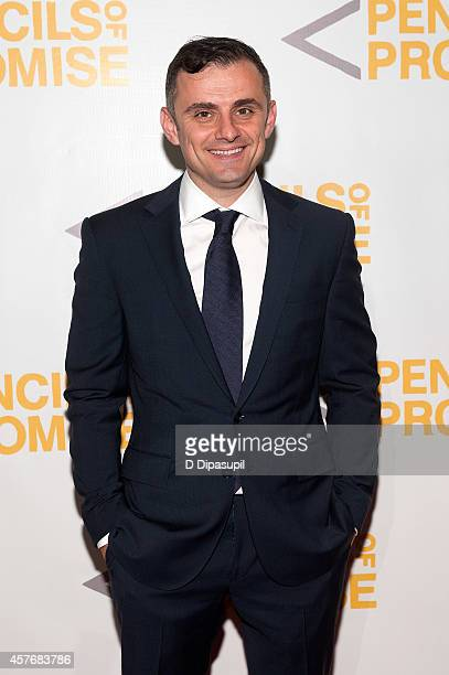 Honoree Gary Vaynerchuk attends the 4th Annual Pencils of Promise Gala at Cipriani Wall Street on October 22 2014 in New York City