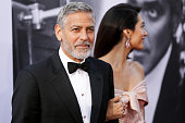 hollywood ca honoree george clooney l